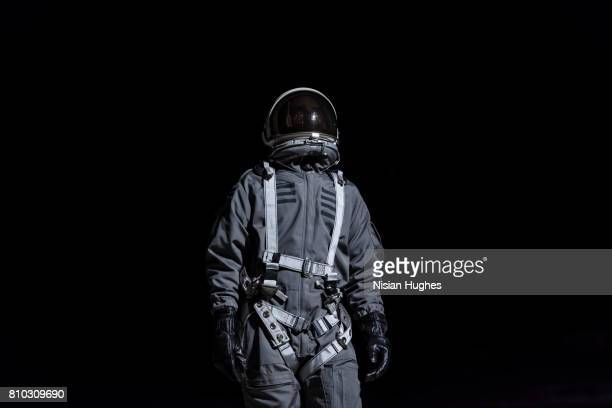 Portrait of astronaut in space suit