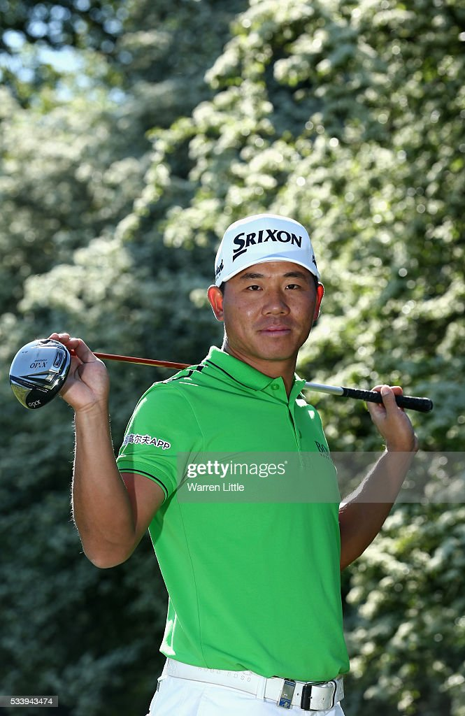 A portrait of Asun Wu of China ahead of the BMW PGA Championship at Wentworth Golf Club on May 24, 2016 in Virginia Water, England.