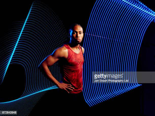 Portrait of Athletic Man