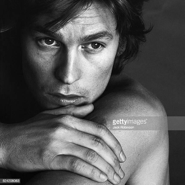 Portrait of Austrian actor Helmut Berger New York New York December 1969