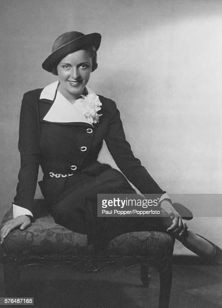 Portrait of Austrian actress Jenny Jugo who appears in the film 'Pygmalion' 1935