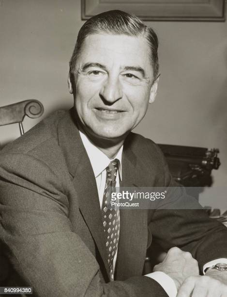Portrait of author and illustrator Theodor Geisel better known as Dr Seuss New York New York April 4 1957