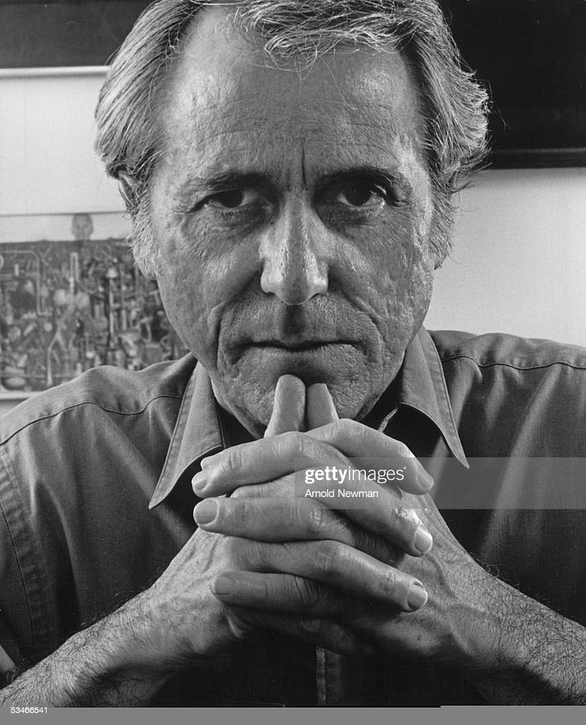 Portrait of author Don Delillo May 13, 1997 in New York City.