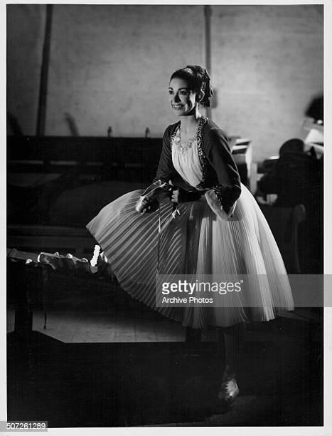 Portrait of ballet dancer Margot Fonteyn in costume circa 1945