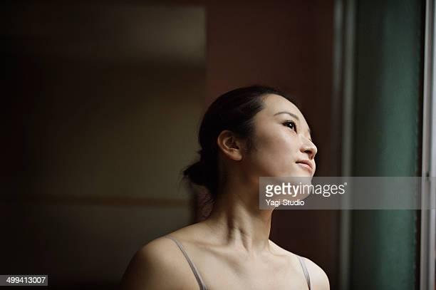 Portrait of  ballet dancer