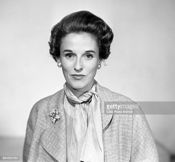 A portrait of Barbara 'Babe' Paley Image dated April 22 1954 New York NY