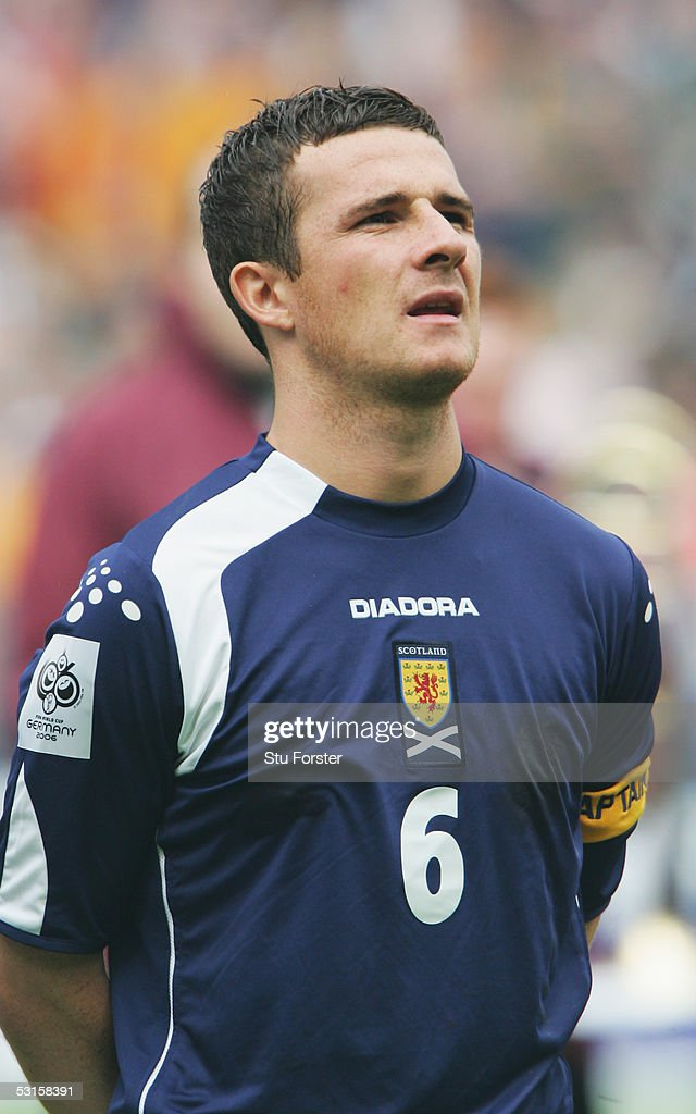 A portrait of Barry Ferguson of Scotland prior to the Group Five World Cup Qualifying match between Scotland and Moldova at Hampden Park on June 4...
