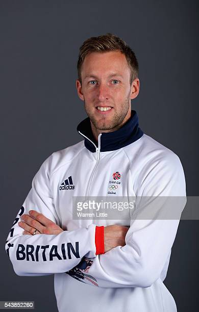 A portrait of Barry Middleton a member of the Great Britain Olympic team during the Team GB Kitting Out ahead of Rio 2016 Olympic Games on June 30...