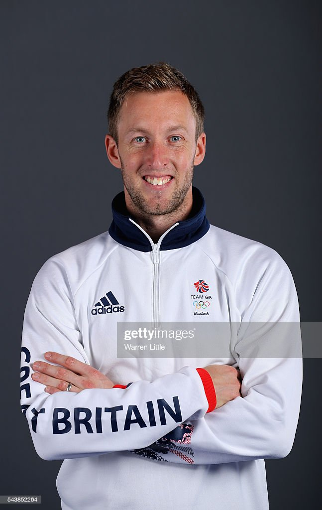 A portrait of Barry Middleton a member of the Great Britain Olympic team during the Team GB Kitting Out ahead of Rio 2016 Olympic Games on June 30, 2016 in Birmingham, England.