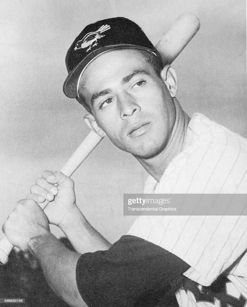 Portrait of baseball player <b>Luis Aparicio</b>, of the Baltimore Orioles, <b>...</b> - portrait-of-baseball-player-luis-aparicio-of-the-baltimore-orioles-as-picture-id598830159