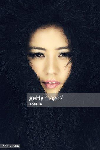 Portrait of beautiful asian woman