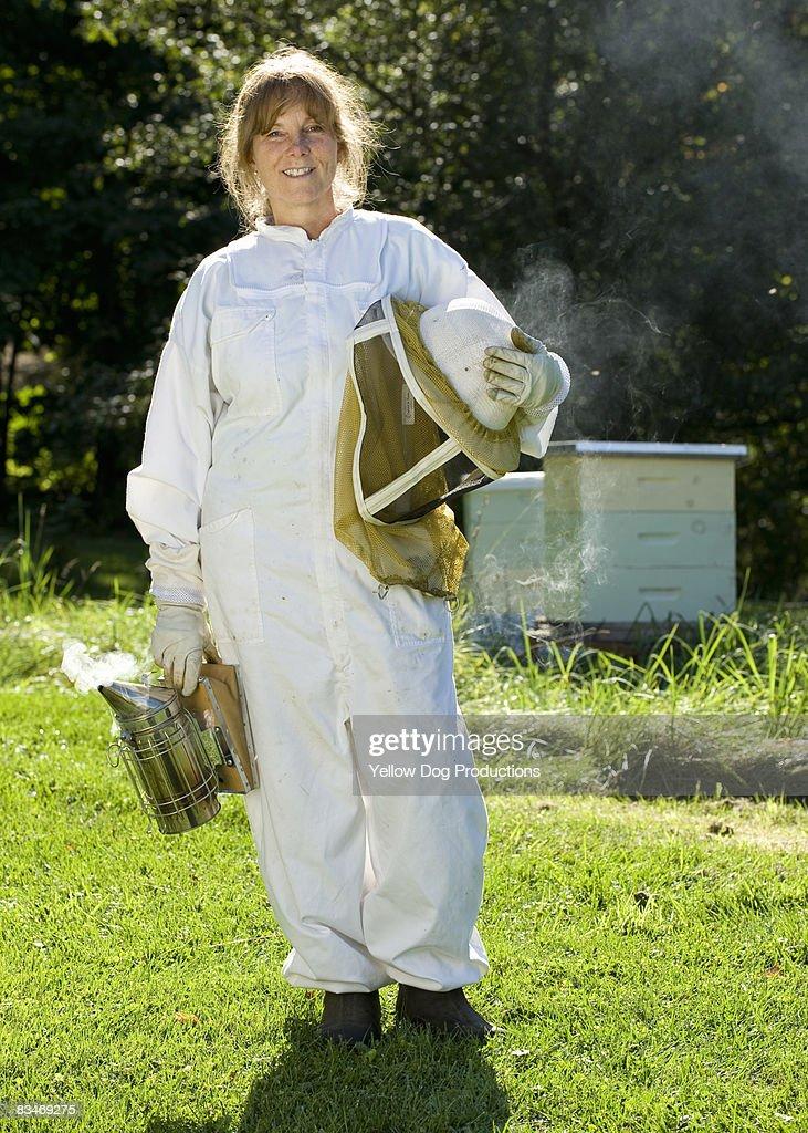 Portrait of Bee Keeper