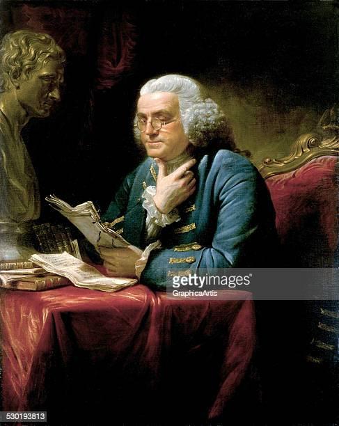 Portrait of Benjamin Franklin by David Martin 1767