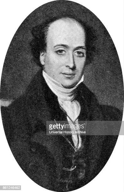 Portrait of Benjamin Nottingham Webster an English actormanager and dramatist Dated 19th Century