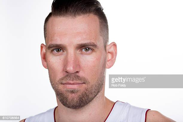 A portrait of Beno Udrih of the Miami Heat on September 26 2016 in Miami Florida