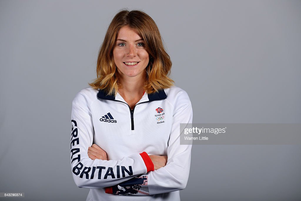 A portrait of Beth Potter a member of the Great Britain Olympic team during the Team GB Kitting Out ahead of Rio 2016 Olympic Games on June 27, 2016 in Birmingham, England.
