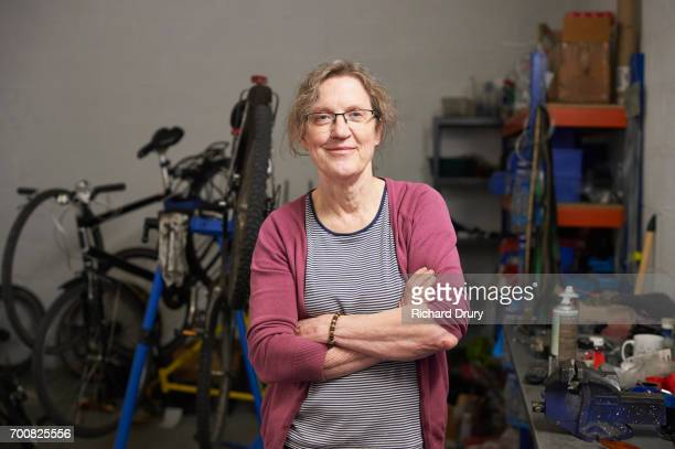 Portrait of bicycle mechanic