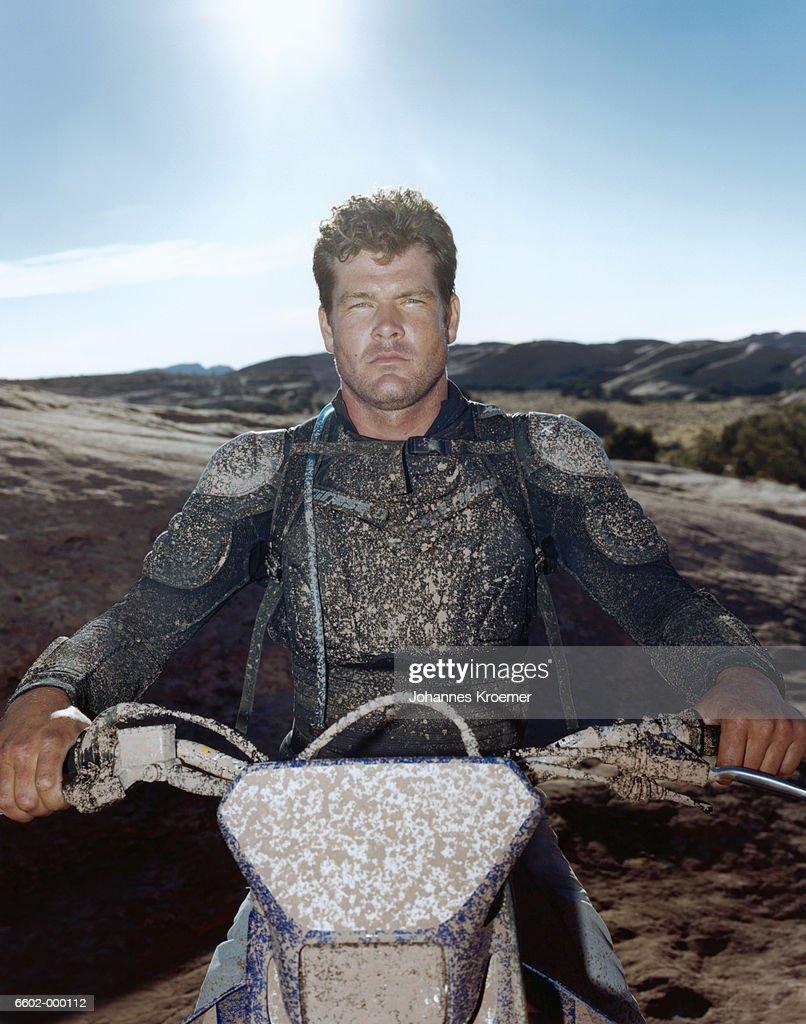 Portrait of Biker