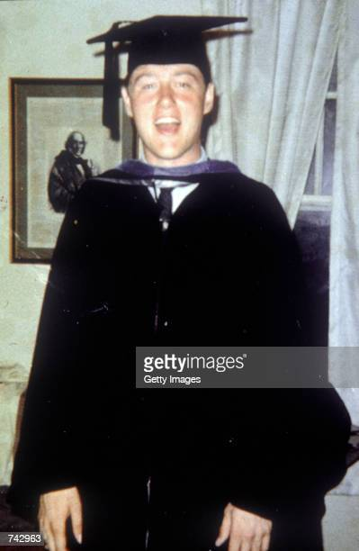 Portrait of Bill Clinton during his younger years