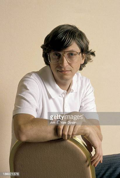 Portrait of Bill Gates from Microsoft at the annual PC Forum Palm Springs California March 1922
