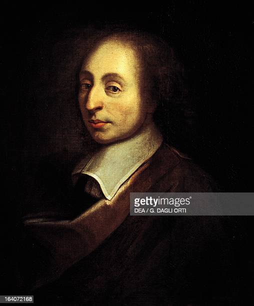 Portrait of Blaise Pascal French mathematician physicist philosopher and theologian Versailles Château De Versailles
