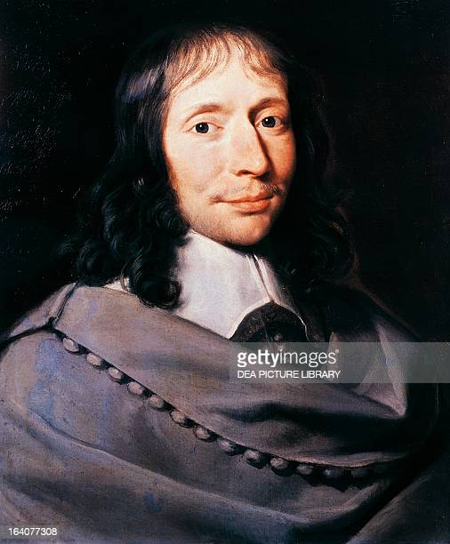 Portrait of Blaise Pascal French mathematician physicist philosopher and theologian Painting by Philippe de Champaigne