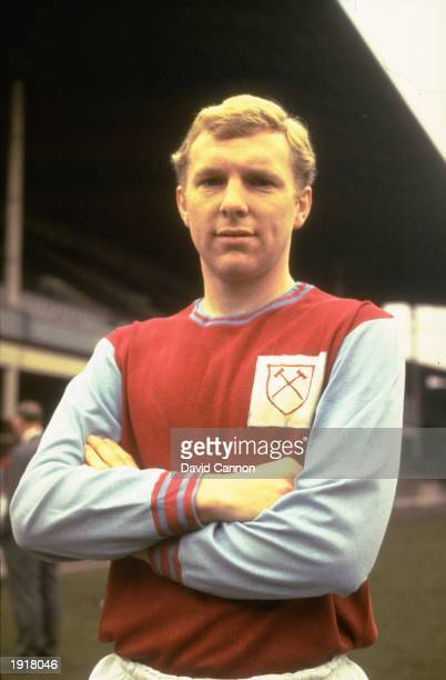 Portrait of Bobby Moore of West Ham at Upton Park London Mandatory Credit Dave Cannon/Allsport