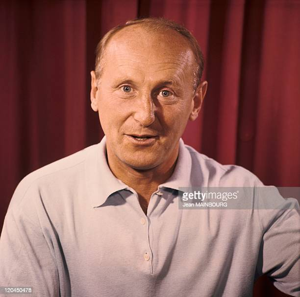 Portrait of Bourvil in the 1960s