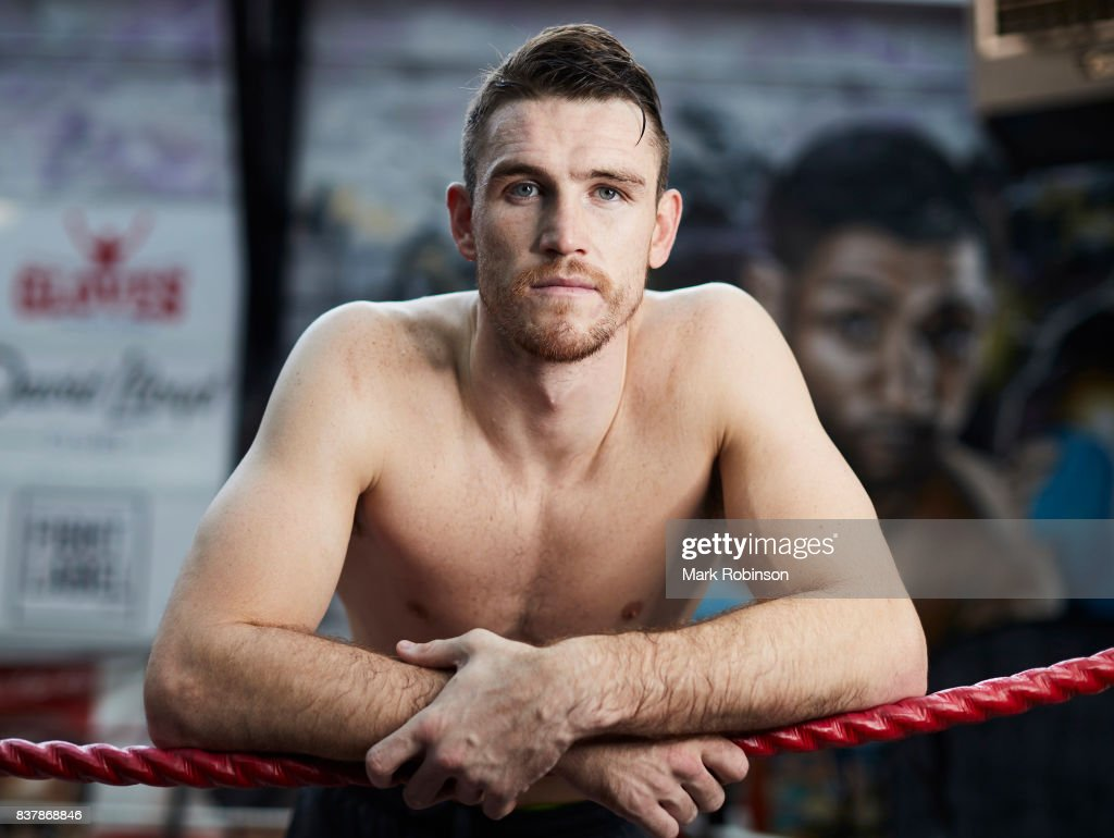 Portrait of boxer Callum Smith after a training session at Gallaghers Gym on August 23, 2017 in Bolton, England.