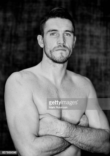 Portrait of boxer Callum Smith after a training session at Gallaghers Gym on August 23 2017 in Bolton England
