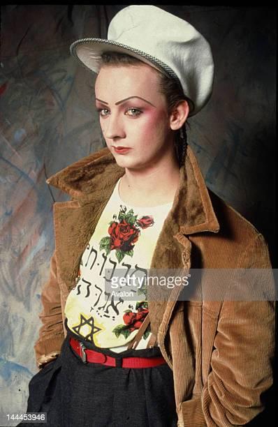 Portrait of Boy George taken in the early Eighties Job 82730 Ref IMK