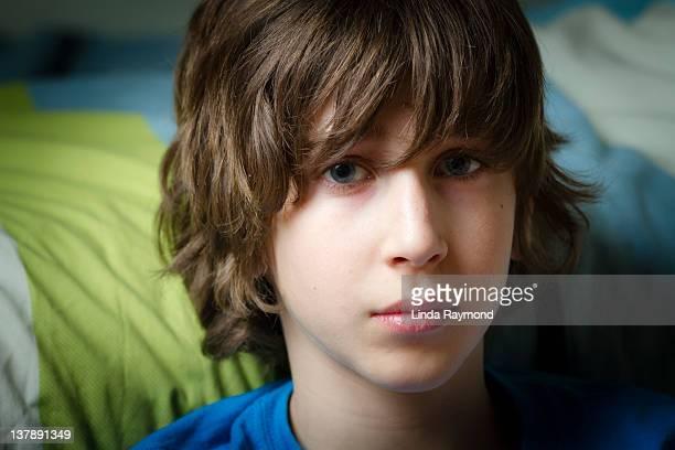 Portrait of boy in natural light