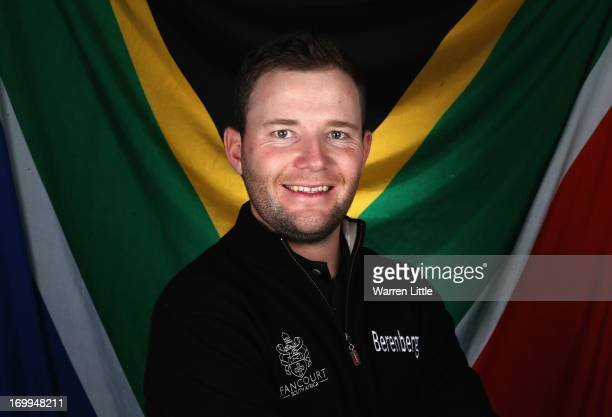 A portrait of Branden Grace of South Africa ahead of the BMW PGA Championship at Wentworth on May 21 2013 in Virginia Water England