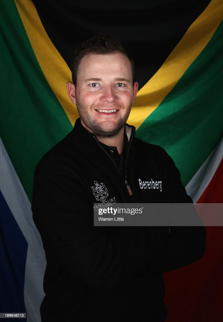 A portrait of Branden Grace of South Africa ahead of the BMW PGA Championship at Wentworth on May 21, 2013 in Virginia Water, England.