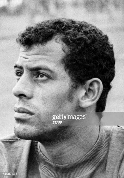 Portrait of Brazilian national soccer team defender Carlos Alberto taken 29 May 1970 in Mexico City two days before the opening of the World Cup AFP...
