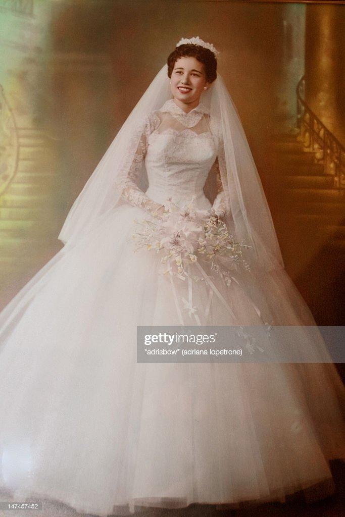 Portrait of Bride : Stockfoto