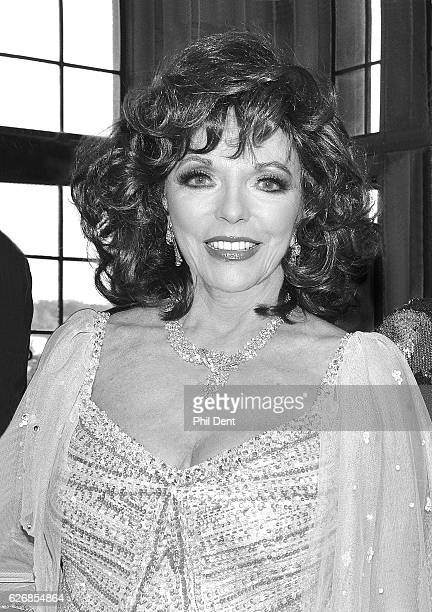 Portrait of British actress Joan Collins London 2011