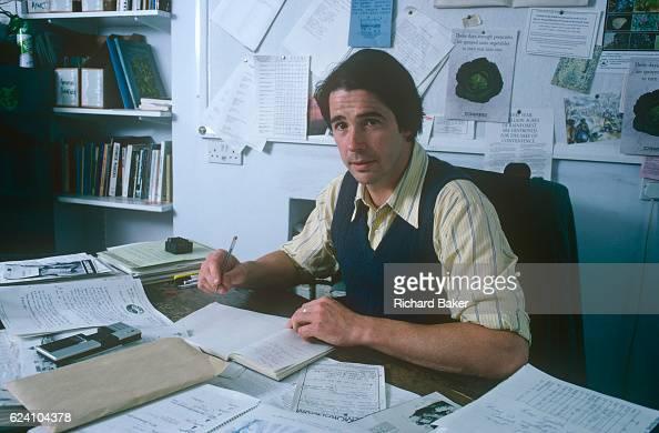 A portrait of British environmentalist Jonathon Porritt while head of Friends of the Earth in the summer of 1989 London UK Porritt's first book...