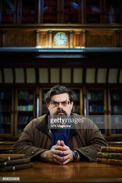 Portrait of British fantasy and science fiction author Adrian Tchaikovsky photographed at the Central Library in Leeds on February 3 2017