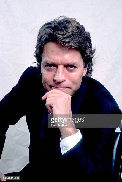 Portrait of British musician Robert Palmer Chicago Illinois May 16 1986