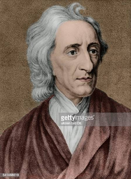 ' Portrait of British philosopher John Locke undated colored later identical with Image Number 224086