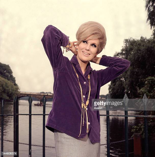 Portrait of British pop singer and entertainer Dusty Springfield taken in the early 60s Job 79143 Ref KCN