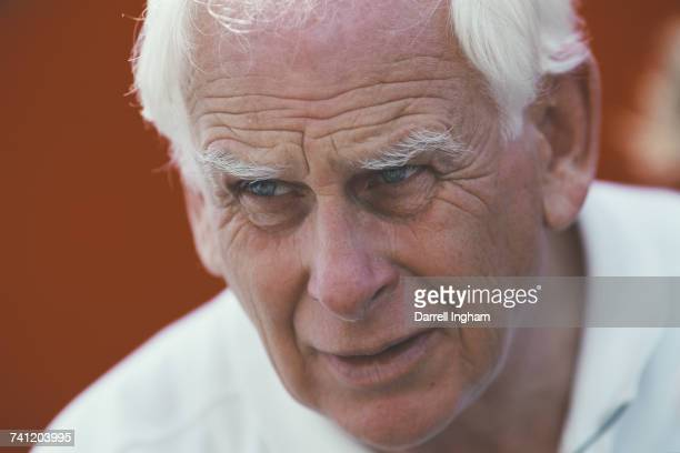 Portrait of British racing car designer Gordon Coppuck of PPI Motorsports during the Championship Auto Racing Teams 2000 FedEx Championship Series...