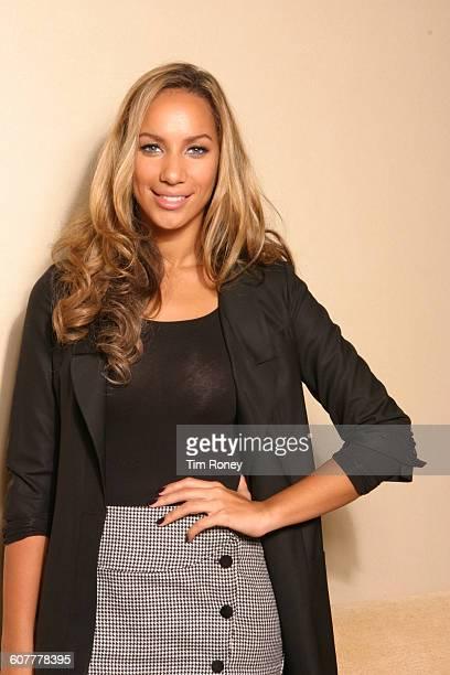 Portrait of British singer Leona Lewis circa 2009