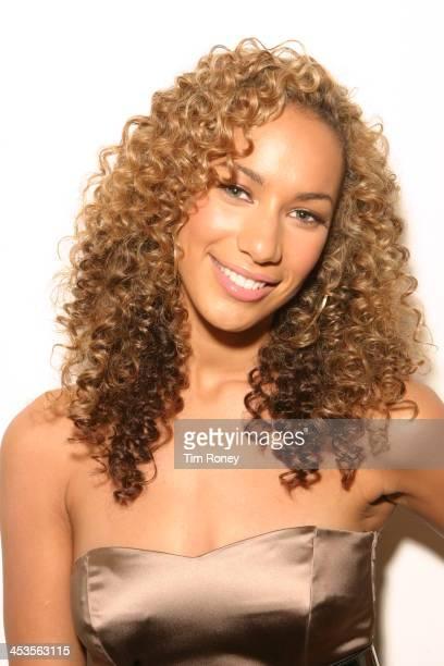 Portrait of British singer Leona Lewis London December 2006