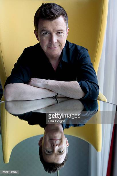 Portrait of British singer Rick Astley Amsterdam Netherlands 12th May 2016
