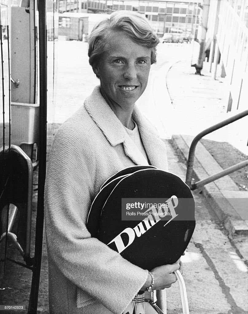 Ann Jones At Heathrow