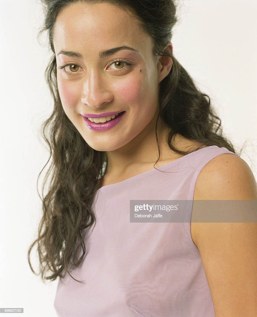 Portrait of brunette woman : Stock Photo