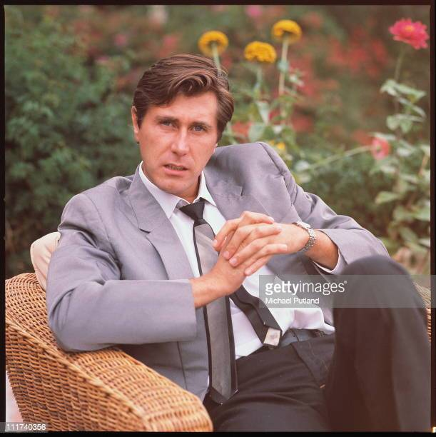 Portrait of Bryan Ferry of Roxy Music solo era Los Angeles October 1977