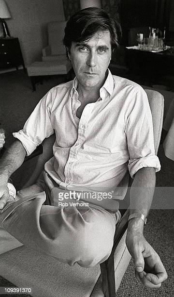 A portrait of Bryan Ferry Roxy Music era at the Hilton Hotel Rotterdam 7th June 1980